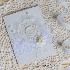 Моя творческая лаборатория: Белая-белая свадебная открытка