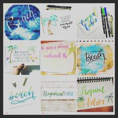 Love looking at all these wonderful pieces of art! So much creativeness...Yes that's a word!!! Here are some of my favorites from the week! Join @chasing3arrows and I for #tropicalvibeslettering  it's not to late!     #typography #lettering #handlettering #moderncalligraphy #instagood #brushcalligraphy #drawing #handwriting #simplyalison #handmade #ink #illustration #drawing #handwritten #calligraphy #brushlettering #font #letters #handdrawn #design #letteringcommunity #calligcommunity…