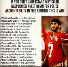 Despite The Hype, Many Military Veterans Support Colin Kaepernick – Gronda Morin Colin Kaepernick, Trayvon Martin, Nfl, Taking A Knee, By Any Means Necessary, Provocateur, Black History Facts, Dont Understand, African American History