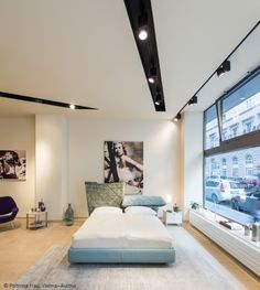 The whole store is the shop showcase with #Picto spotlight #design Artemide Studio