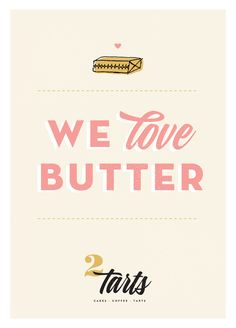 New Brand Reveal / 2tarts Bakery : Grit & Wit #gritandwit #branding