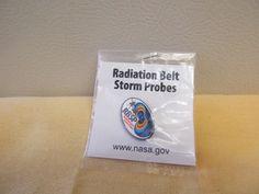 NASA RBSP Radiation Belt Storm Probes Mission Pin