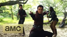 "Official Comic Con Trailer: Into the Badlands: World Premiere - ""Into the Badlands"" (AMC) Sunday, Nov. 15, 2015 at 10 p.m. -  © AMC"