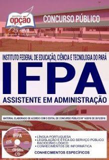 Apostila Concurso Ifpa 2019 Pdf Download Com Imagens Concursos