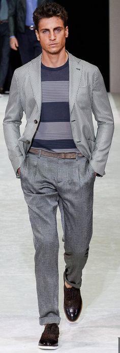 Giorgio Armani | Men's Fashion & Style | Menswear | Men's Outfit for Spring/Summer | Moda Masculina | Shop at designerclothingfans.com