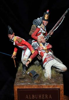 Bill Horan - Albuhera 1812 - 54mm