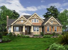 craftsman house plan love the floor plan add walk in closet to bedroom 3 by adding additional square footing on exterior wall