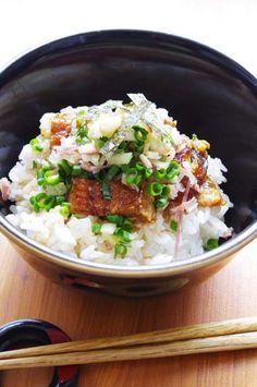 夏ばて防止!鰻の生姜&ミョウガ丼 | 美肌レシピ