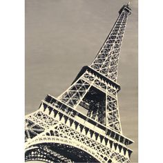 Enjoy the contemporary style of the Paris Tower rug in your home. Featuring the iconic Eiffel Tower in shades of black, grey, and ivory, this area rug will add style and pizazz to any space.