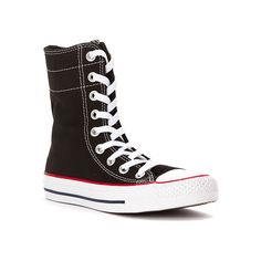 Converse Chuck Taylor All Star Hi ($65) ❤ liked on Polyvore featuring shoes, sneakers, athletic-inspired, women's, lace up sneakers, lace shoes, hi-tops, lace up high top sneakers and lace high top sneakers