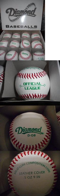 Baseballs 73893: Diamond The Ballof Choice Official League Baseballs Balls -> BUY IT NOW ONLY: $38 on eBay!