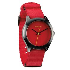 Nixon - Mod - Bright Red *** For more information, visit image link. (This is an Amazon Affiliate link and I receive a commission for the sales)