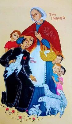 St John Bosco, Saints, Disney Characters, Fictional Characters, Disney Princess, Art, Religious Pictures, Art Background, Kunst