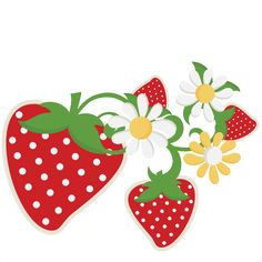 50c Strawberries SVG cutting files fruit svg cuts strawberries scal files cutting files for cricut