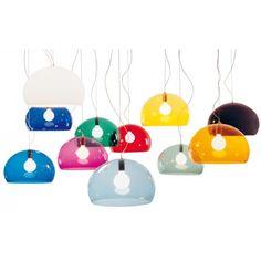Kartell Lamp - Fly, designlamp van Ferruccio Laviani voor Kartell.