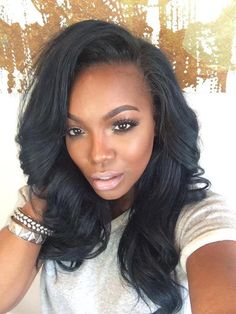 Really loving Beauty & Makeup blogger, Tiarra Monet's hair and makeup here!!...Just fierce!!...❤️