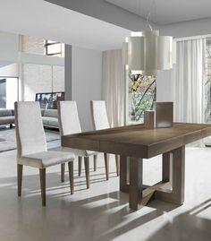 Mesa de comedor extensible modelo 293