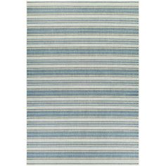 Beachcrest Home Wexford Marbella Blue/Sand Area Rug