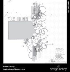 Adesigngirl's Gallery: design honey sketch no. 003