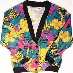 People Vintage // Floral Cardigan //16.95 + shipping