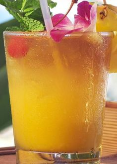 Tropical Fruit Punch Recipe For Children and Adults