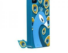 IPhone 4/4S Case Chic Peacock Silic..