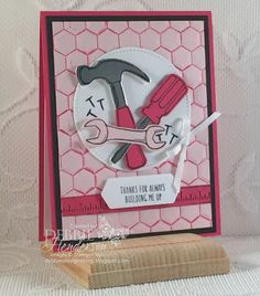 A Girly Tool Card from Nailed It!