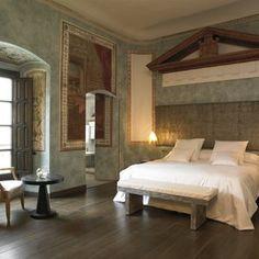 Ein wirklich königliches Schlafgemach: Hospes Palacio del Bailio - Córdoba, Spanien