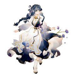 Anime Girl Drawings, Anime Art Girl, Manga Art, Cute Drawings, Fantasy Character Design, Character Design Inspiration, Character Art, Pretty Art, Cute Art