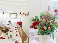 Maggie Sottero and Shades of Red for a Pretty Country Summer Wedding | Love My Dress® UK Wedding Blog