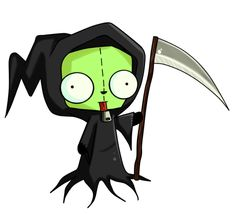 If the grim reaper actually looked like this I wouldn't be afraid of dying..