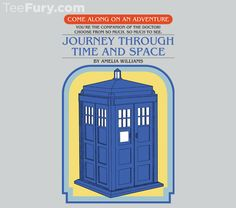 Get This Parody Doctor Who Design now at TeeFury.com! Available in Men and Women's sizes. @teefury