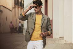 Gieves & Hawkes Spring/Summer 2019 Advertising Campaign Fashion Brand, Mens Fashion, The Fashionisto, Advertising Campaign, Printed Shirts, Spring Summer, Short Sleeves, Street Style, Blazer