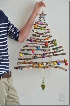 Resultado de imagen de como hacer un arbol de navidad con guata