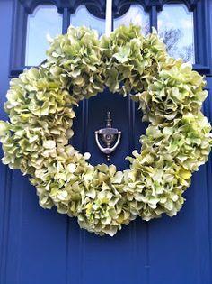 Virginia Belle: Hydrangea Wreath DIY