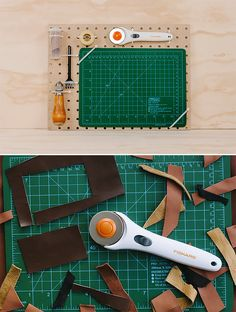 DIY Leatherworker's Tool Set for Kids from DIY.org