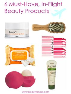 6 Must-have, In-flight Beauty Products
