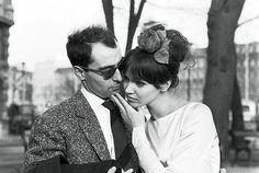 Jean Luc Godard & Anna Karina