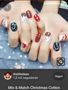 Almond Nails Pink, Rose Gold Nails, Green Nails, Xmas Nails, Holiday Nails, Christmas Nails, Christmas Clothes, Holographic Nails Acrylic, Orange Nail Designs
