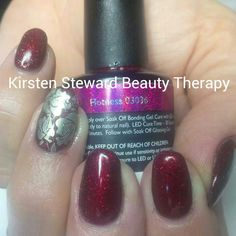 Artistic colour gloss moyou stamping plate nail art