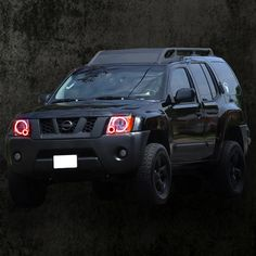 Nissan Xterra Halo Headlights by LED Ideas are on sale now at NFC P… - Autos Online 2015 Nissan Xterra, Nissan Xtrail, Nissan Navara, Nissan Patrol, Truck Mods, 4x4 Trucks, Truck Camper, Motorhome, Nissan Hardbody