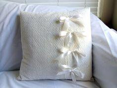 Side tie pillow via Ameroonie Designs