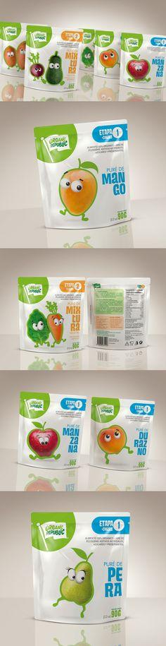 Organic Republic. Organic baby food
