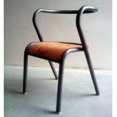 Gascoin style chair, France.