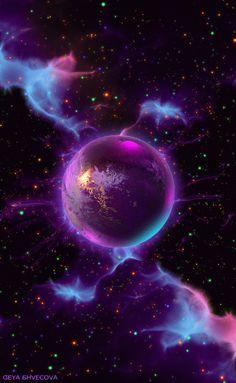Wallpaper Galaxy God New Ideas Planets Wallpaper, Wallpaper Space, Cool Wallpaper, Wallpaper Backgrounds, Iphone Wallpaper, Purple Galaxy Wallpaper, Beautiful Nature Wallpaper, Beautiful Moon, Galaxy Art