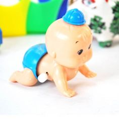 HuntGold Boy Cute Windup Crawling Crawl Toy Doll Gift for Baby Kid Child ** Be sure to check out this awesome product.