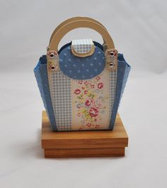 Favor Bag - Floral and Gingham