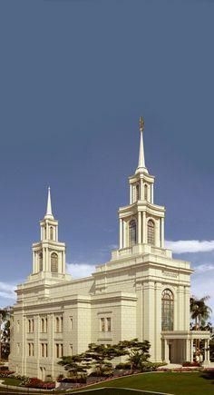 Fortaleza Brazil LDS (Mormon) Temple Construction Photographs (OLD Rendering)