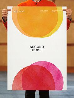 Pentagram / Marina Willer – Dynamic brand identity for Second Home featuring a family of twelve logos Ad Design, Flyer Design, Print Design, Graphic Design, Interior Design, Corporate Design, Collateral Design, Event Poster Design, New Year Designs
