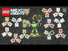 11 Nexo Power Shields   Nexo Knights Blind Bags Combo Set - Batch 3 - YouTube